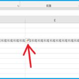 【Excel】行/列の挿入時にシート上に表示されるハケ(ブラシ)が邪魔