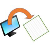 Excel シートを画面から出したときの大きさを調べてみた