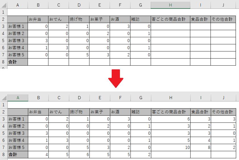 【Excel VBA】行の位置が変わる特定のセルを基準にして計算範囲 ...